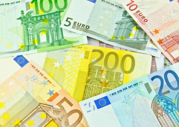 EURO BANKNOTE_PRINTED PICTURE